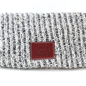 Navy Speckled Beanie | Love Your Melon