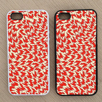 Cute Vintage Geometric Dr. Seuss iPhone Case, iPhone 5 Case, iPhone 4S Case, iPhone 4 Case - SKU: 203