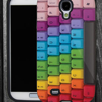 Keyboard Colorful-IPhone 5 case,IPhone 4,4S,Samsung Galaxy S2 i9100,Samsung S3 i9300,Samsung S4 i9500-B-2462013-9