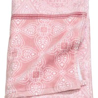Patterned bath towel - Pink - Home All | H&M GB