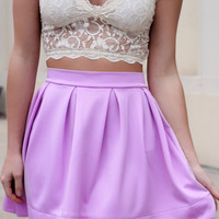 No Comparison Skirt - Lavender