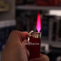 Honest Windproof Colorful Jet Hot Pink Flame Cigarette Cigar Butane Gas Lighter