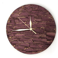 #clock #wallclock #bronze #homedecor #giftforman