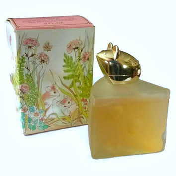 Vintage Avon Mouse Perfume Bottle 70's Avon Swiss Mouse Kitsch Figurine Glass Bottle Roses Cologne Fragrance 70's Vanity Collectible