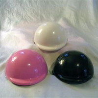 DOG BIKE HELMET - white, black or pink - 3 sizes