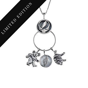 Limited Edition - Cornell '77 - Steal Your Face Sterling Silver Charm Catcher