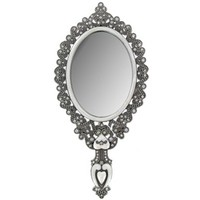 Antique Silver Hand Mirror with Crystals | Shop Hobby Lobby