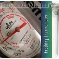 """Update International THFR-17 5 1/2""""-Long Dial Frothing Thermometer"""