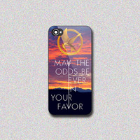 Hunger Games Catching Fire Quotes - Print on Hard Cover for iPhone 4/4s, iPhone 5/5s, iPhone 5c - Choose the option in right side