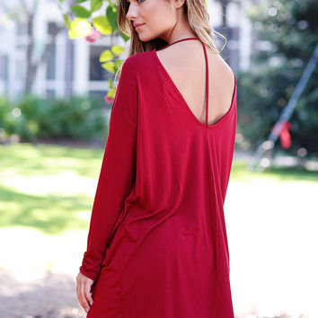 The Luxe T-Back Tunic