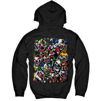 [Hoodie] - Colored Clowns I