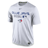 Nike Legend Team Issue (MLB Blue Jays) Men's Training Shirt Size Large (White)