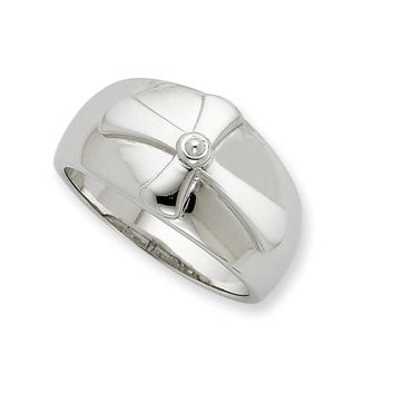 Men's Sterling Silver Purity Prayer Sentimental Expressions Ring