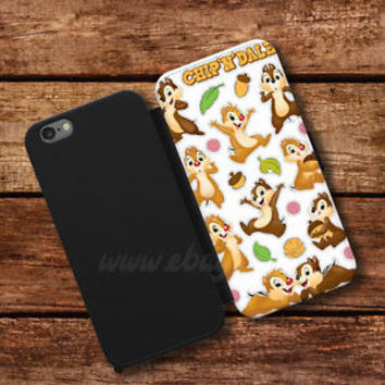 Disney Classic Wallet iPhone Case Chip N Dale Samsung Wallet Leather Phone Cases