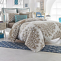 Studio 3B Cyndi Reversible Duvet Cover Set