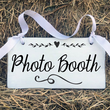Wedding Sign Photo Booth, Bridal Gift, Wedding Gift, Ring Bearer, Photo Booth, Wedding Sign, Wedding Decor, Engagement Gift, Decorations