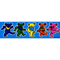 Grateful Dead - Dancing Bears Sticker