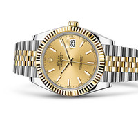 Rolex Datejust 41 Watch: Yellow Rolesor - combination of 904L steel and 18 ct yellow gold - 126333