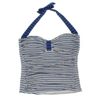Tommy Bahama Womens Tankini Striped Swim Top Separates