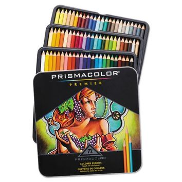 Prismacolor Colored Art Pencil Set - 72 pieces - Walmart.com