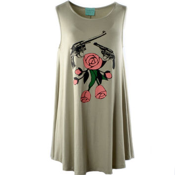 Judith March Guns and Roses Dress