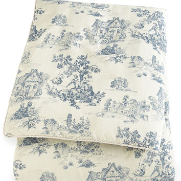 """Queen Toile Comforter, 92"""" x 96"""" - Sherry Kline Home Collection"""