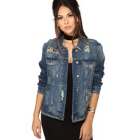 Denim Danger Zone Jacket