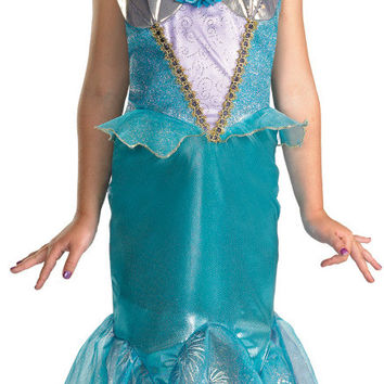 girl's costume: ariel prestige | medium