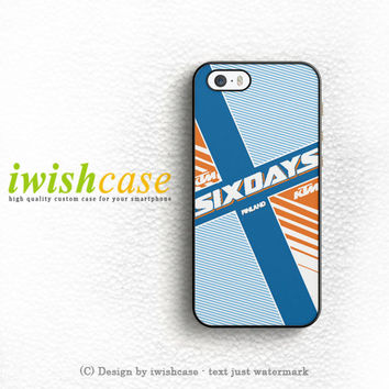 Ktm Motorcycle Six Days Finland Mx iPhone 4 | 4S Case Cover