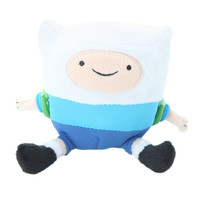 Adventure Time Finn Mini Slamacow Talking Plush
