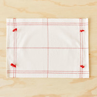 COTTON PLACEMAT WITH POMPOMS (SET OF 2) - PLACEMATS - KITCHEN & DINING | Zara Home United States of America