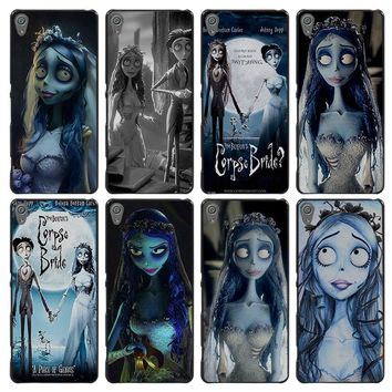 Corpse Bride zombies Style Case Cover for Sony Ericsson Xperia X XZ XA XA1 M4 Aqua E4 E5 C4 C5 Z1 Z2 Z3 Z4 Z5