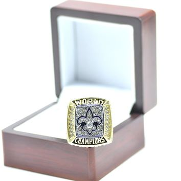 offical design 2009 New Orleans saints championship ring