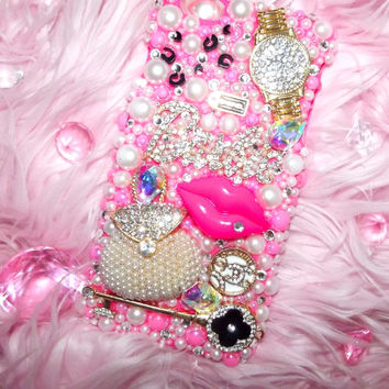 Pink Barbie Bling iPhone 6/6s PLUS Case