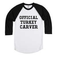 OFFICIAL TURKEY CARVER FUNNY THANKSGIVING SHIRT