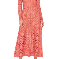 Guipure Lace Dress | Moda Operandi