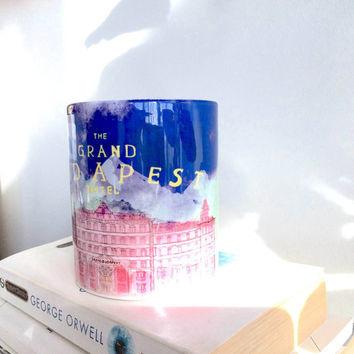 The Grand Budapest Hotel Mug. The Grand Budapest Hotel Gift. Gifts for Movie Lovers. Film Lover's Gifts.