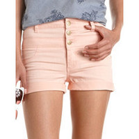 Refuge High Waisted Colored Short: Charlotte Russe