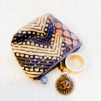 Make Up Bag/ Coin Purse/ Gift for Her/ Valentines Gift/ Girlfriend Gift/ BFF Gift/ Gift for Women/ Gift for Mom/ Wife Gift/ Coworker Gift