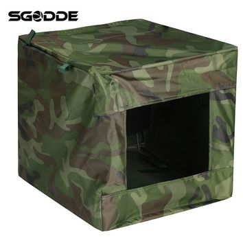 Hot Sale 40x40cm Foldable PVC Target Box Recycle Ammo Bow Arrow Portable Hunting Case Holder for Catapult Practice Gifts