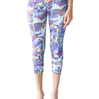 Candida Maria US Cool Wind Digital Capri Supplex