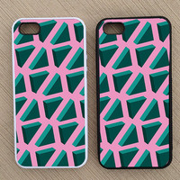 Hipster Triangle iPhone Case, iPhone 5 Case, iPhone 4S Case, iPhone 4 Case - SKU: 171