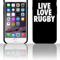 Live Love Rugbyr 5 5s 6 6plus phone cases