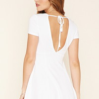 Self-Tie V-Neck Dress | Forever 21 - 2000203458