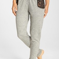 Women's Blue Life Laser Cut Sweatpants,