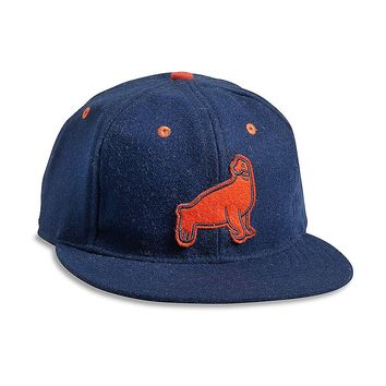 Lucky Brand Ebbets Field Sf Seals Mens - Navy/Orange (One Size)