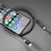 SONICable – Black | SONICable - The world's most advanced charge cable