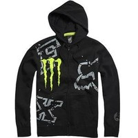 Fox Racing Monster RC Replica Downfall Zip-Up Hoody - Medium/Black