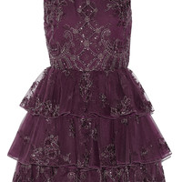 Alice + Olivia Rowley ruffled tulle and organza mini dress – 50% at THE OUTNET.COM