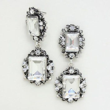 "Elegant Bridal Wedding Prom Bride gauges plugs earrings 0g - 1"" 8mm - 25mm"